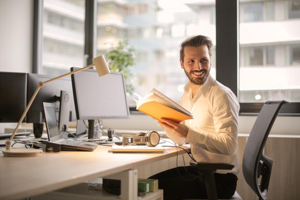 Man laver research til sin business blog